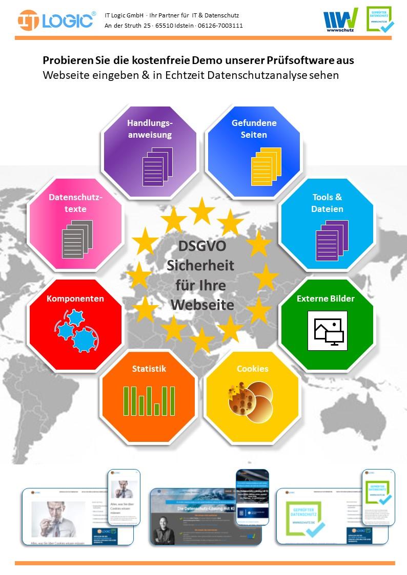 DSGVO-Software für Websites